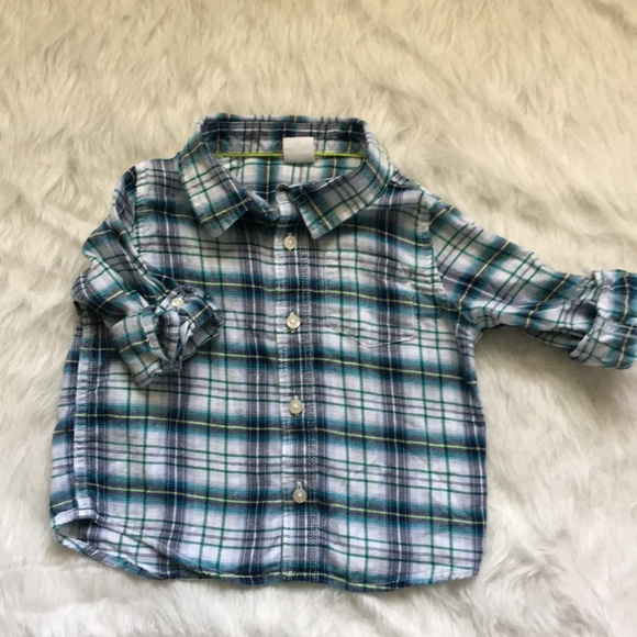 01549f918 GAP Shirts & Tops | Baby Infant Boy Button Down Shirt 1824 Months ...